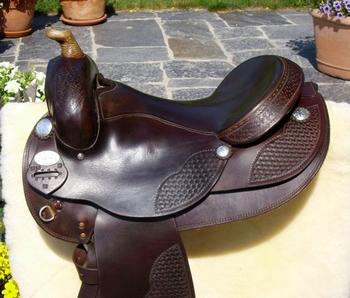 Western Saddles: Gebrauchtsättel